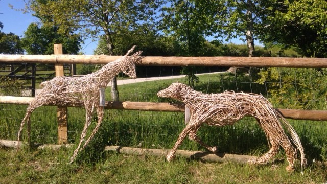 Chiltern Open Air Museum Willow Sculptures