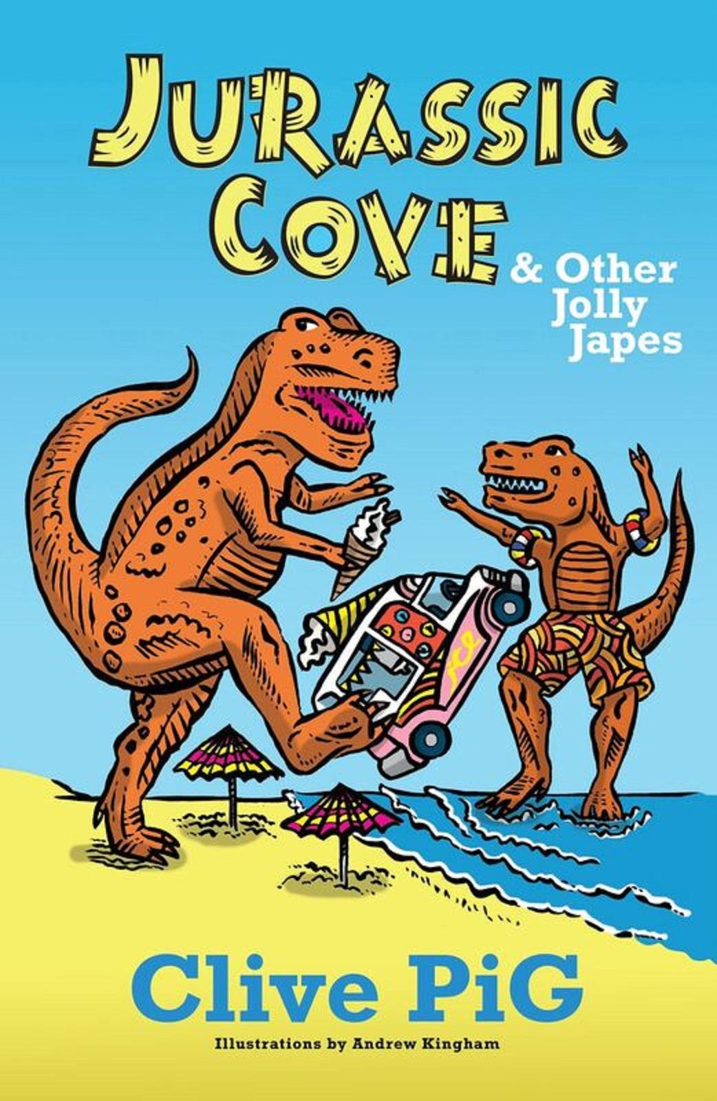 Jurassic Cove book cover