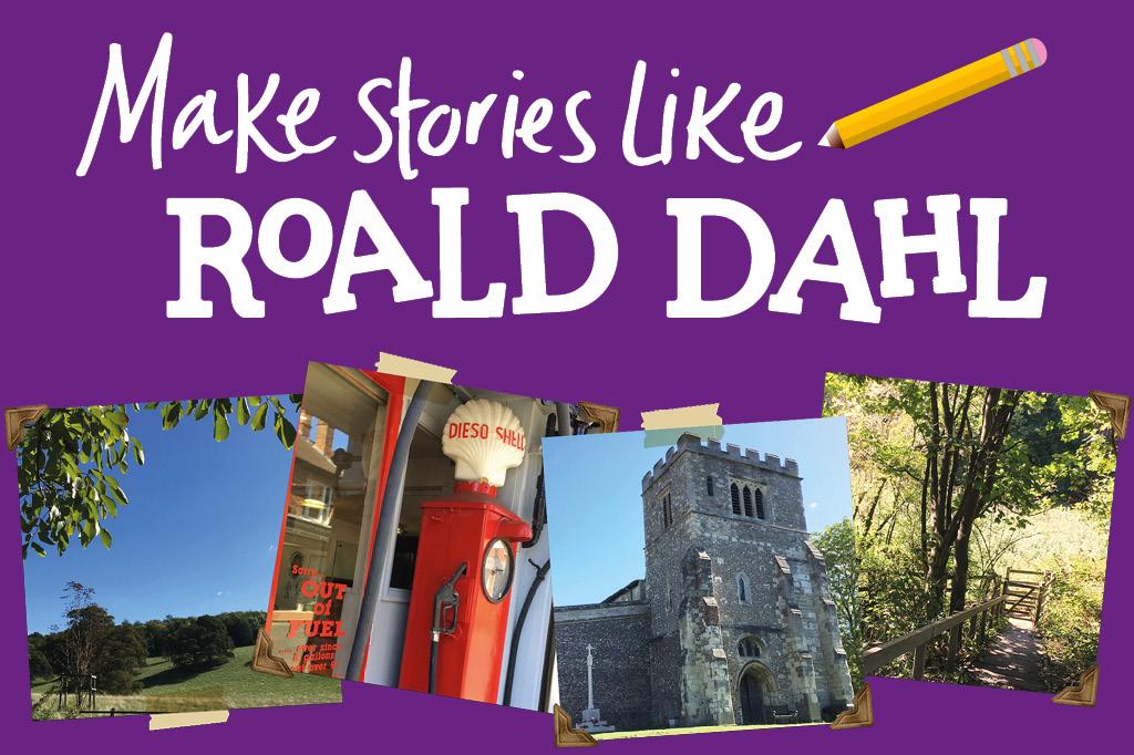 Roald Dahl trail images