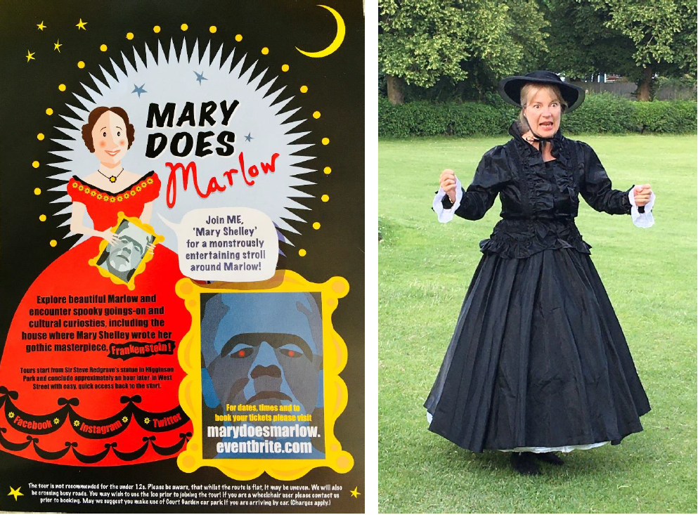 Mary Shelley and Mary Does Marlow poster
