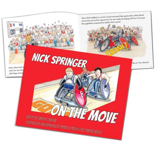 Image of Nick Springer book